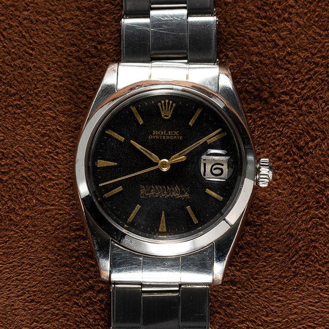 SOLD - 1965 Rolex Oysterdate Commissioned by Sheikh Abdullah Al-Jaber Al-Sabah